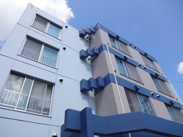 北海道札幌市中央区、西28丁目駅徒歩16分の築31年 4階建の賃貸マンション