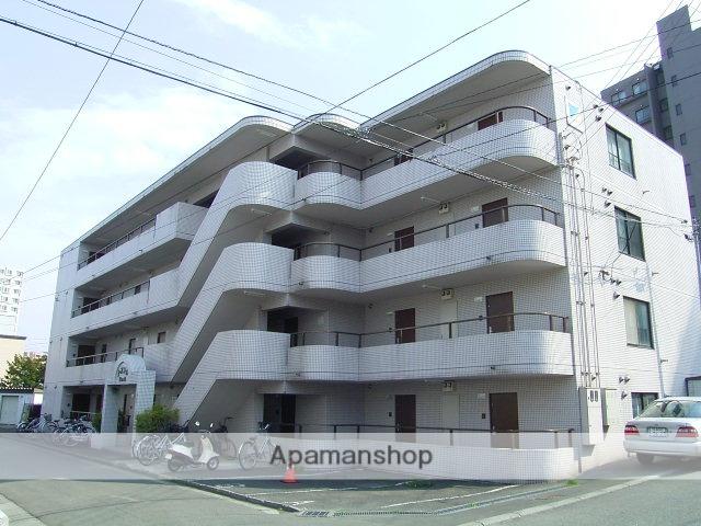 北海道札幌市中央区、二十四軒駅徒歩16分の築28年 4階建の賃貸マンション