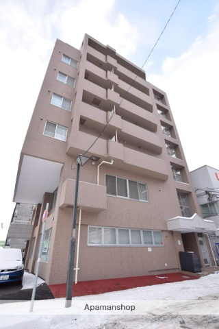 北海道札幌市中央区、バスセンター前駅徒歩3分の築15年 7階建の賃貸マンション