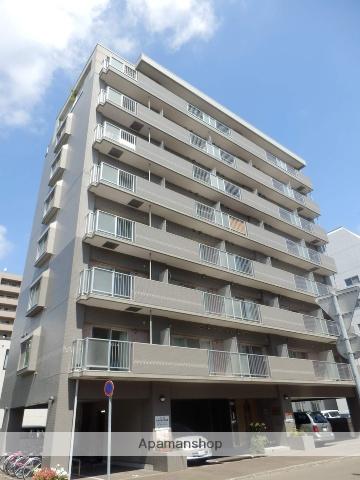 北海道札幌市中央区、西11丁目駅徒歩7分の築17年 8階建の賃貸マンション