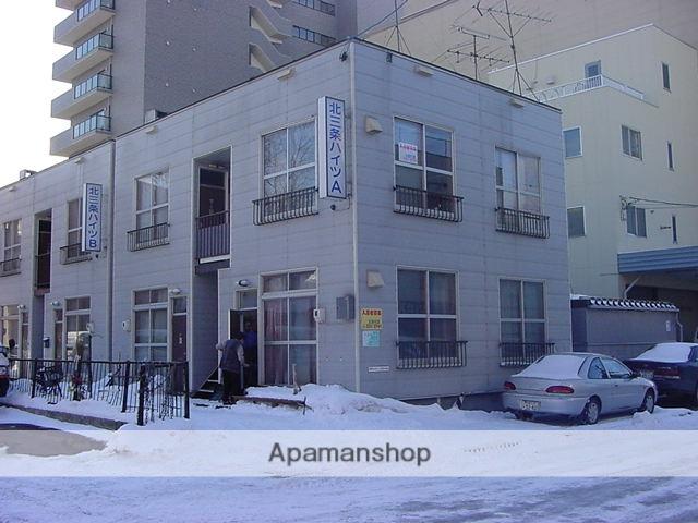 北海道札幌市中央区、苗穂駅徒歩14分の築35年 2階建の賃貸アパート