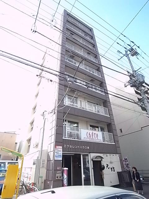 北海道札幌市中央区、バスセンター前駅徒歩4分の築33年 9階建の賃貸マンション