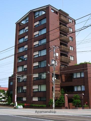 北海道札幌市中央区、電車事業所前駅徒歩6分の築26年 9階建の賃貸マンション