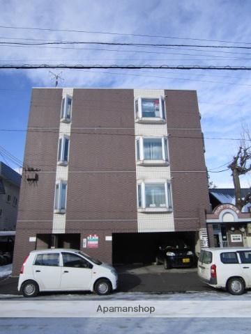 北海道札幌市中央区、石山通駅徒歩8分の築25年 4階建の賃貸マンション