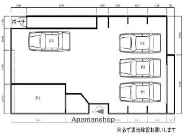 アーバンライフ南5条[1LDK/28.9m2]の配置図