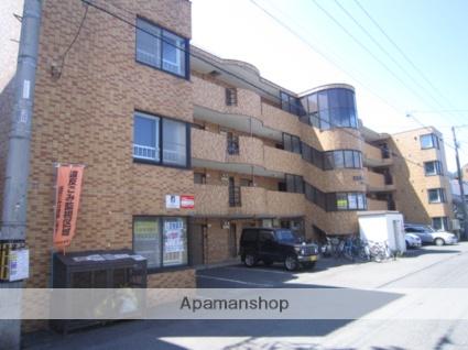 北海道札幌市中央区、西線6条駅徒歩8分の築26年 4階建の賃貸マンション