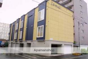 北海道札幌市中央区、桑園駅徒歩15分の築13年 2階建の賃貸アパート