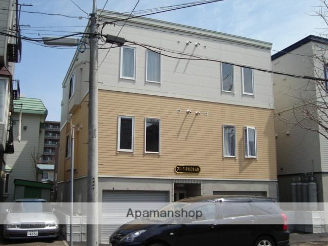 北海道札幌市中央区、幌平橋駅徒歩6分の築12年 3階建の賃貸アパート