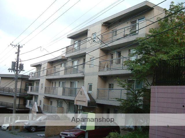 北海道札幌市中央区、ロープウェイ入口駅徒歩5分の築26年 4階建の賃貸マンション