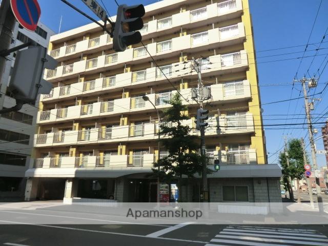 北海道札幌市中央区、バスセンター前駅徒歩5分の築32年 7階建の賃貸マンション