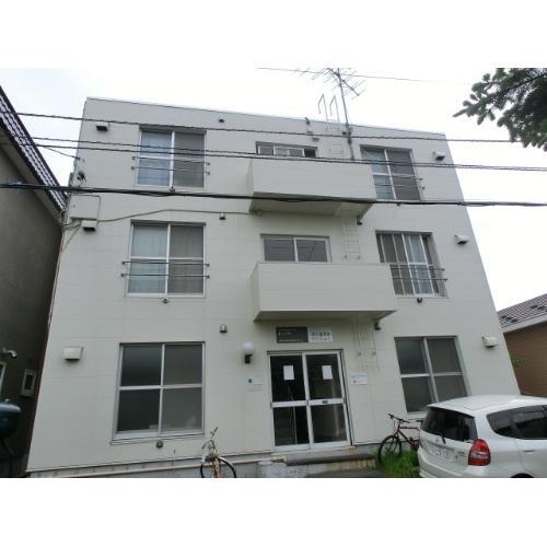 北海道札幌市中央区、西28丁目駅徒歩11分の築34年 3階建の賃貸マンション