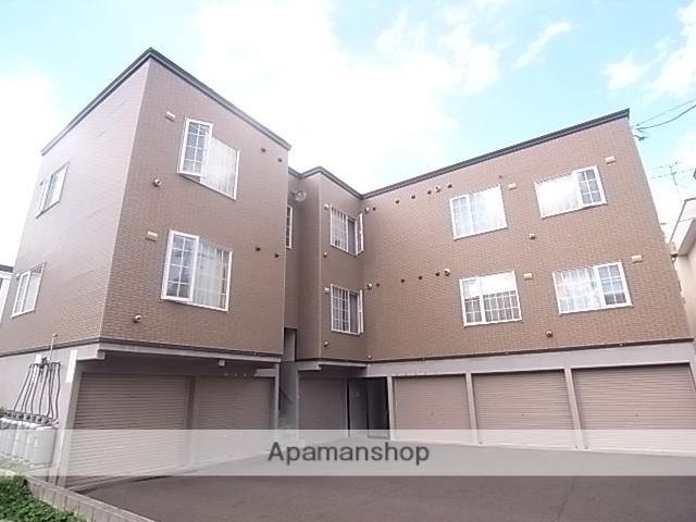 北海道札幌市中央区、桑園駅徒歩12分の築17年 3階建の賃貸アパート