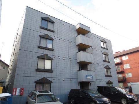 北海道札幌市中央区、幌平橋駅徒歩8分の築14年 4階建の賃貸マンション