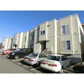 北海道札幌市中央区、琴似駅徒歩16分の築27年 2階建の賃貸アパート
