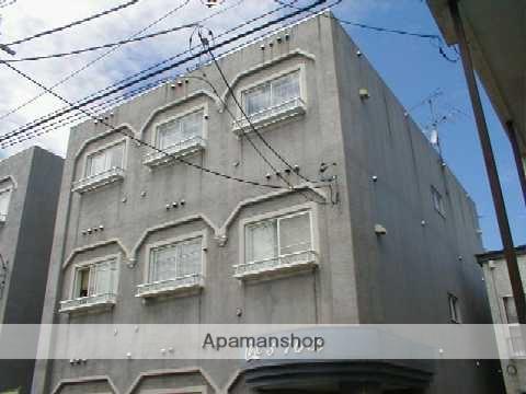 北海道札幌市中央区、西線9条旭山公園通駅徒歩7分の築26年 3階建の賃貸マンション