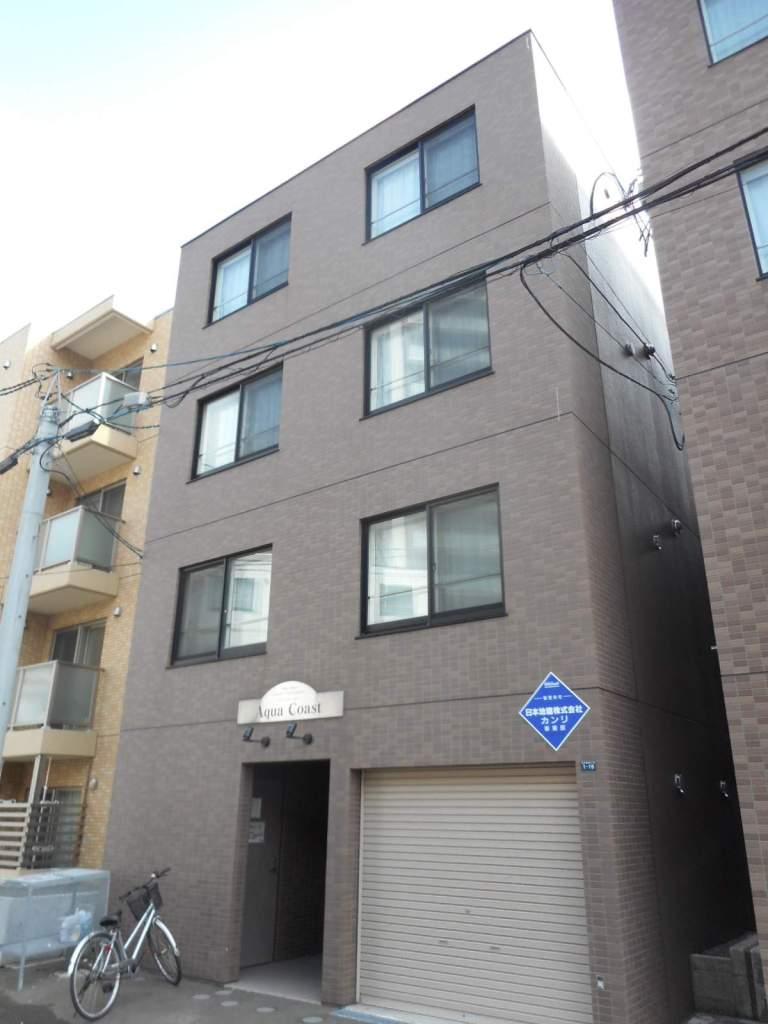 北海道札幌市中央区、二十四軒駅徒歩10分の築9年 4階建の賃貸マンション