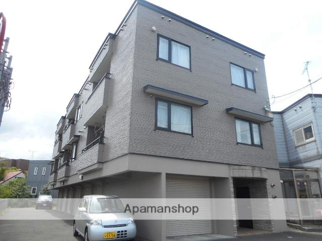北海道札幌市中央区、桑園駅徒歩8分の築15年 3階建の賃貸アパート