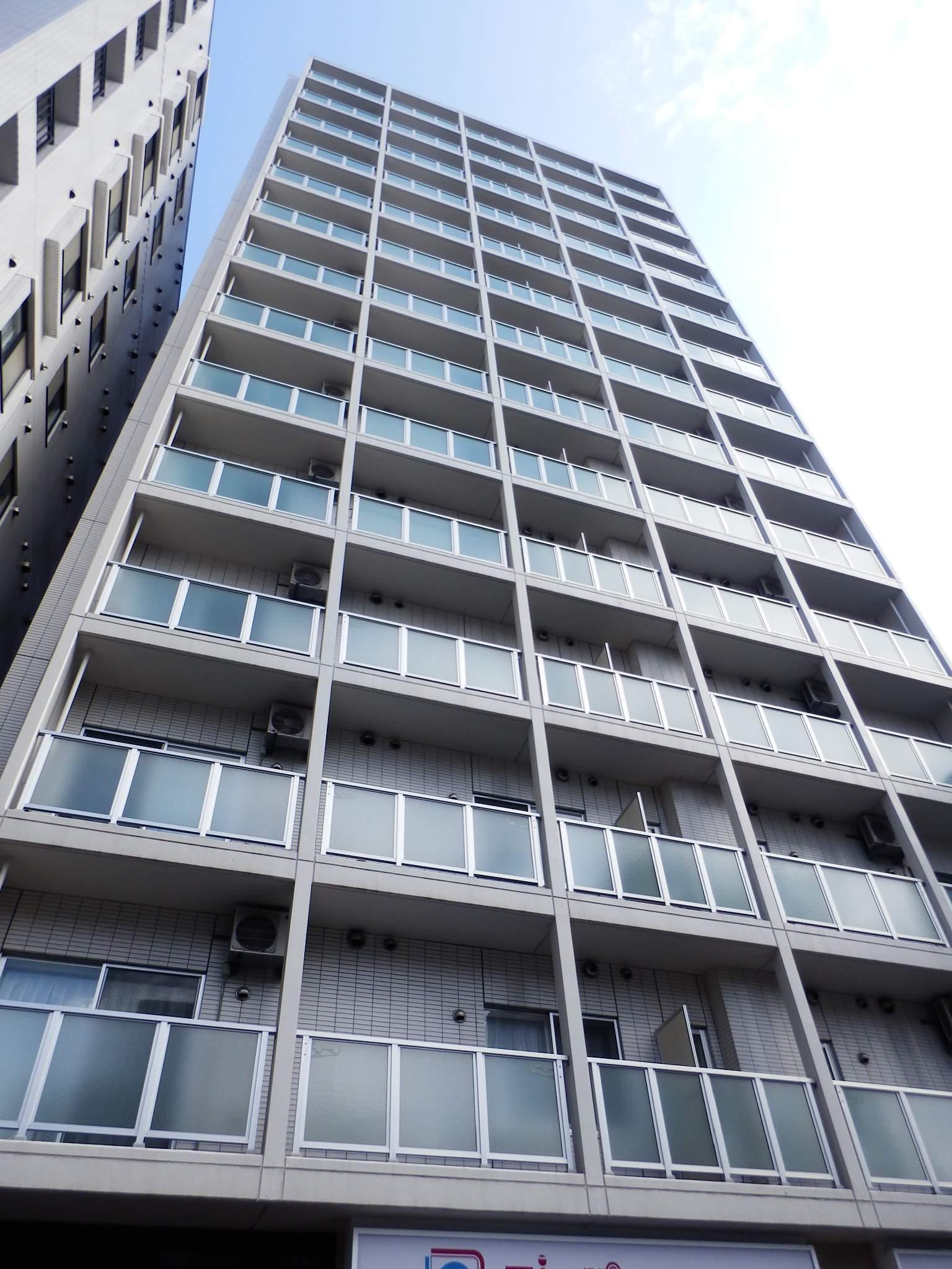 北海道札幌市中央区、西8丁目駅徒歩5分の築7年 14階建の賃貸マンション