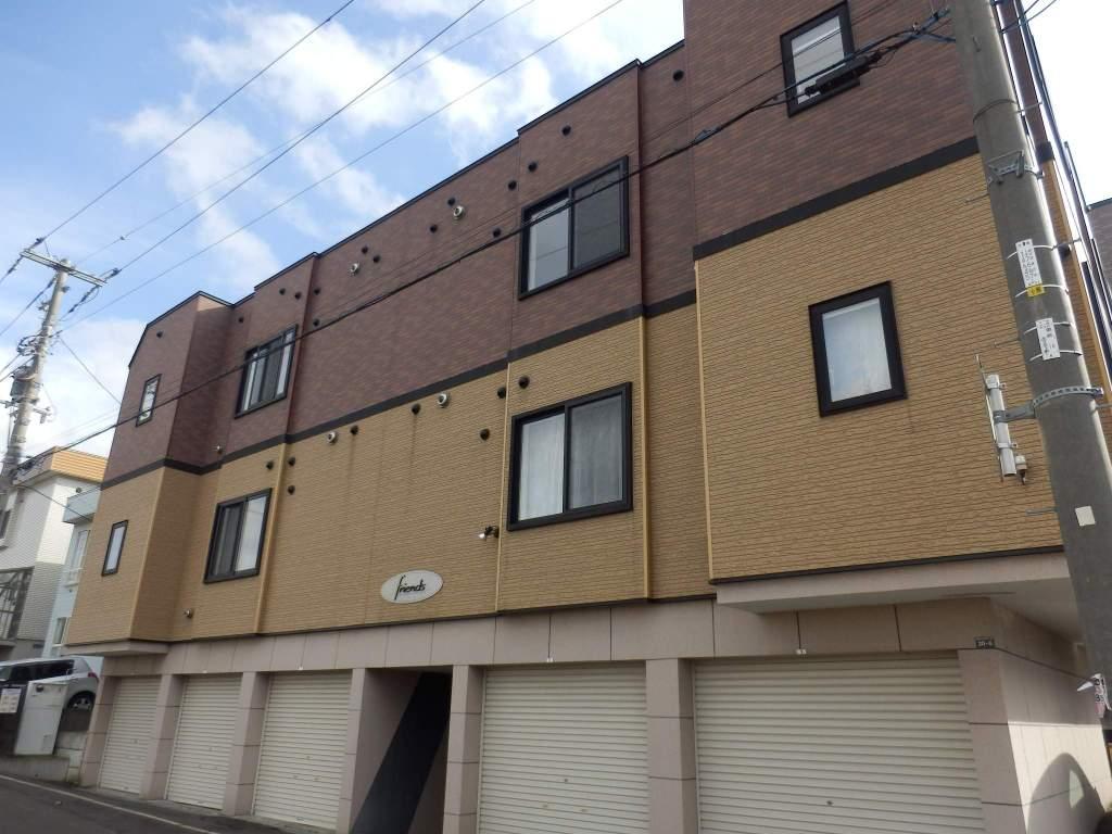 北海道札幌市厚別区、厚別駅徒歩6分の築10年 2階建の賃貸アパート