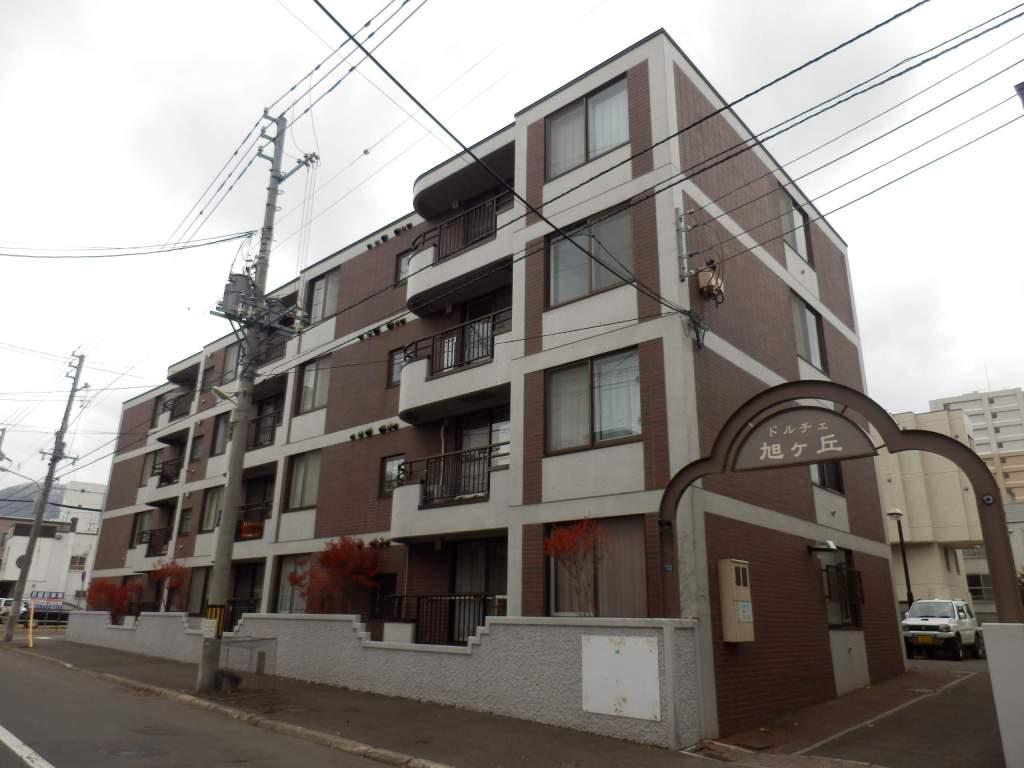 北海道札幌市中央区、西18丁目駅徒歩13分の築27年 4階建の賃貸マンション