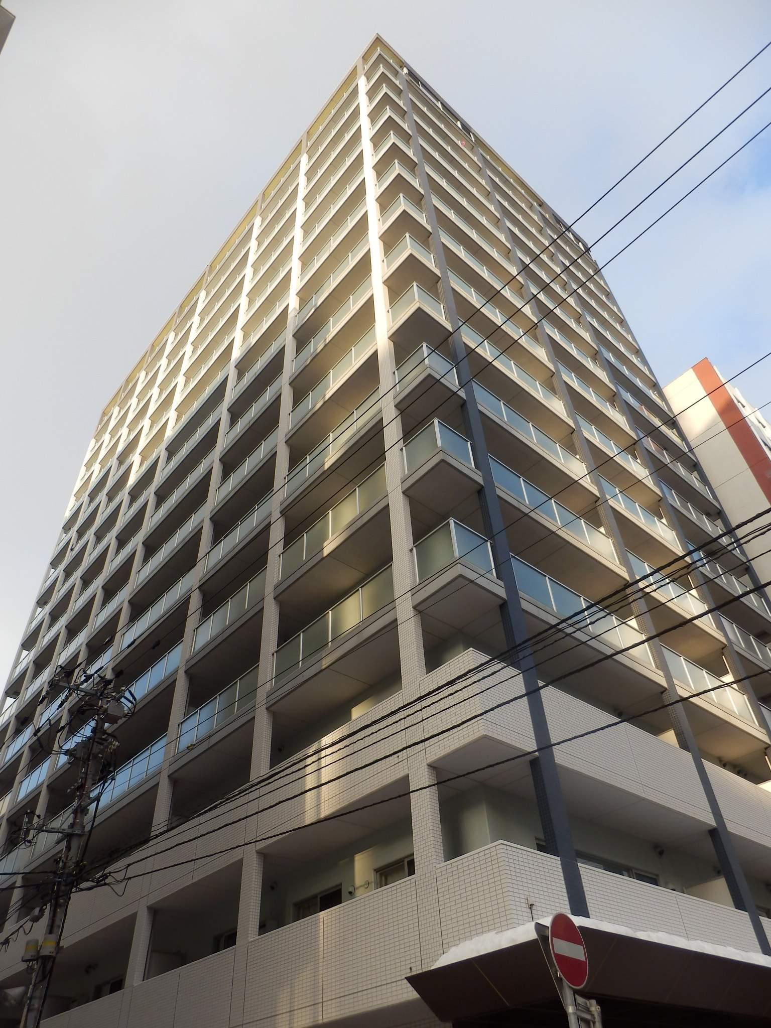 北海道札幌市中央区、バスセンター前駅徒歩2分の築10年 15階建の賃貸マンション