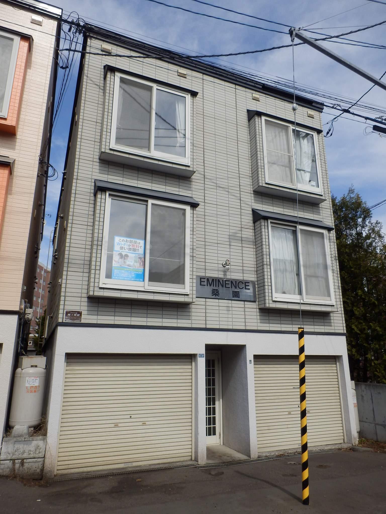 北海道札幌市中央区、桑園駅徒歩6分の築22年 3階建の賃貸アパート