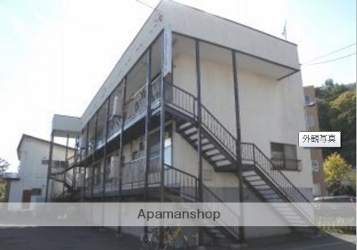 北海道札幌市中央区、電車事業所前駅徒歩15分の築32年 3階建の賃貸アパート