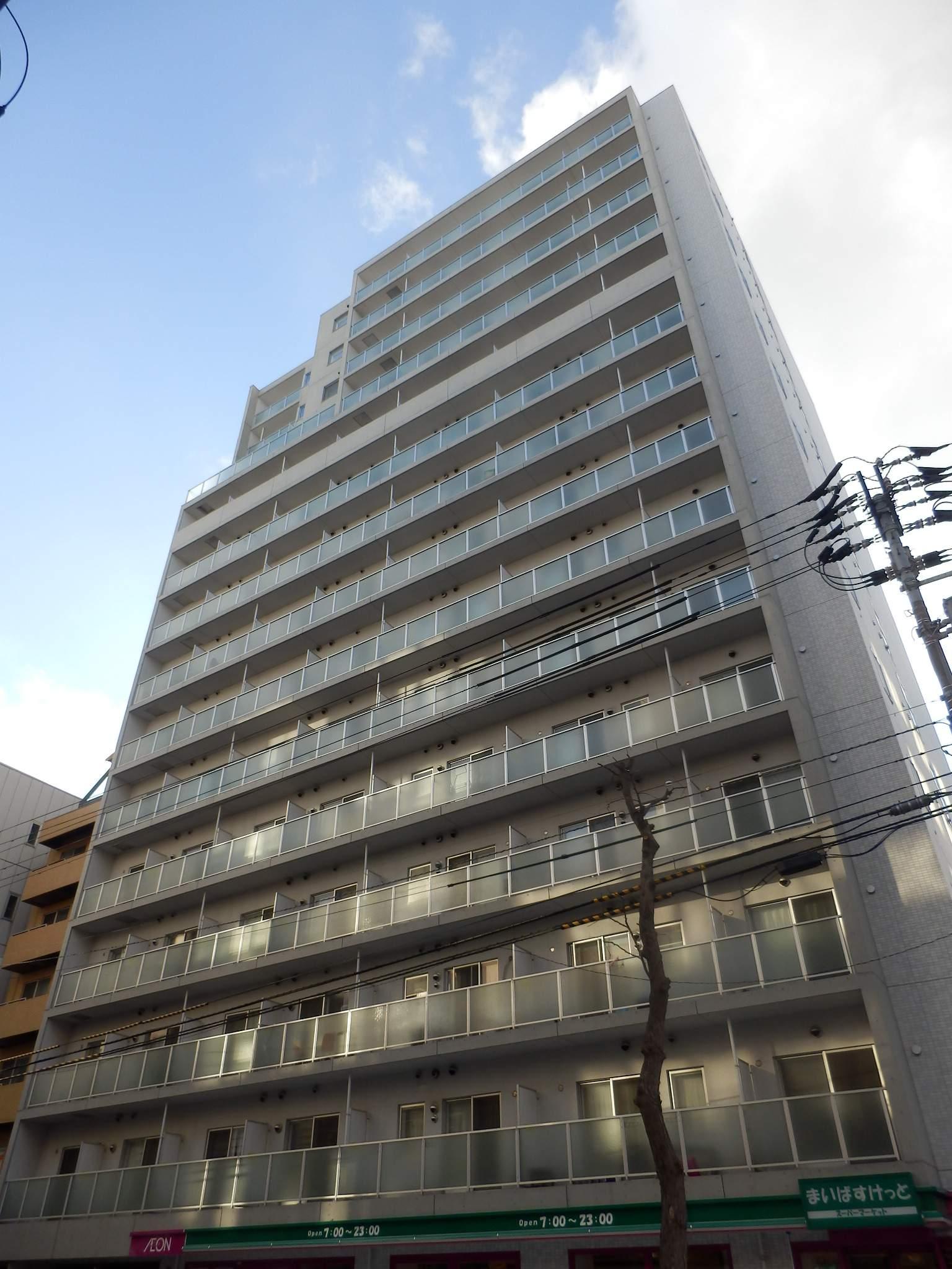 北海道札幌市中央区、札幌駅徒歩6分の築9年 15階建の賃貸マンション