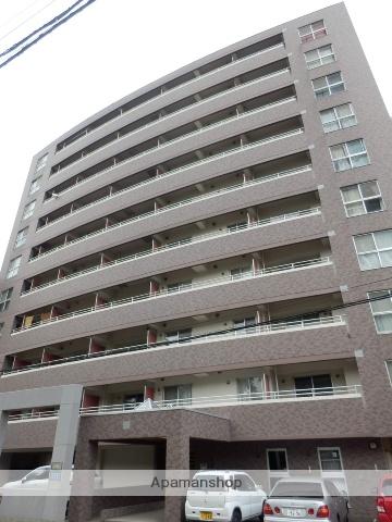 北海道札幌市中央区、中島公園駅徒歩5分の築18年 10階建の賃貸マンション