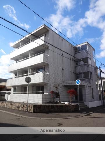 北海道札幌市中央区、二十四軒駅徒歩13分の築30年 4階建の賃貸マンション