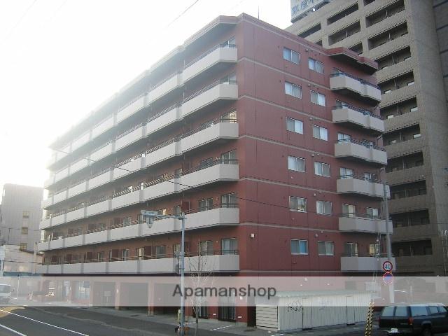 北海道札幌市中央区、すすきの駅徒歩10分の築36年 7階建の賃貸マンション