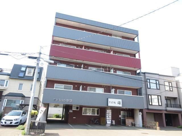 北海道札幌市中央区、桑園駅徒歩17分の築22年 6階建の賃貸マンション