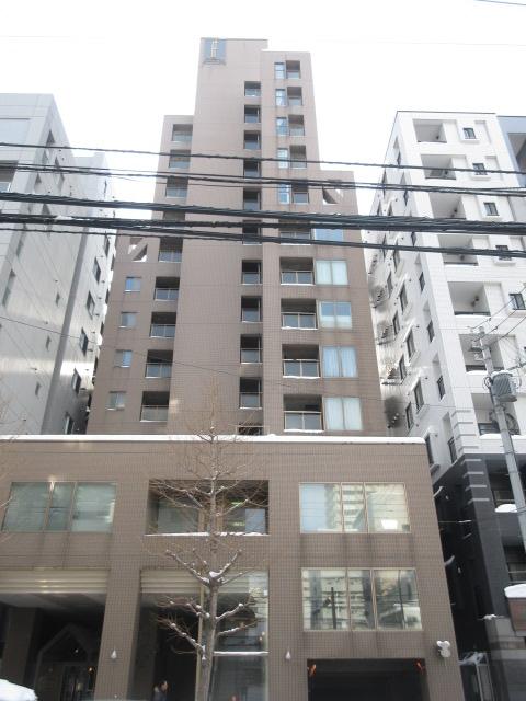 北海道札幌市中央区、西11丁目駅徒歩9分の築27年 13階建の賃貸マンション