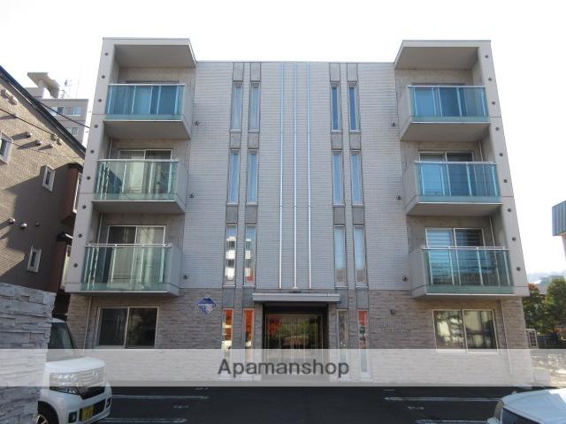 北海道札幌市中央区、幌平橋駅徒歩12分の築6年 4階建の賃貸マンション