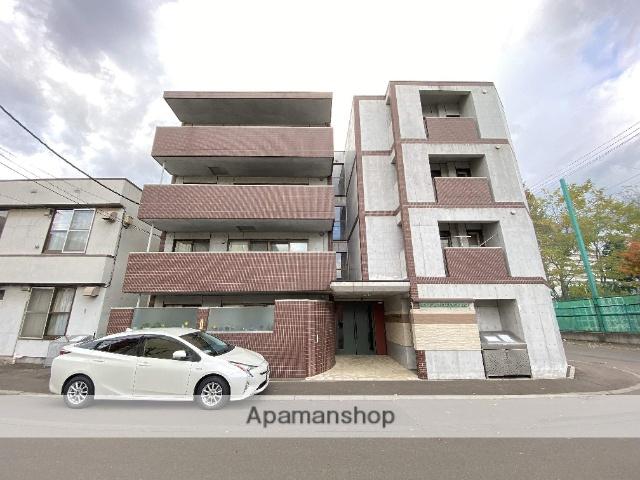 北海道札幌市中央区、琴似駅徒歩17分の築6年 4階建の賃貸マンション