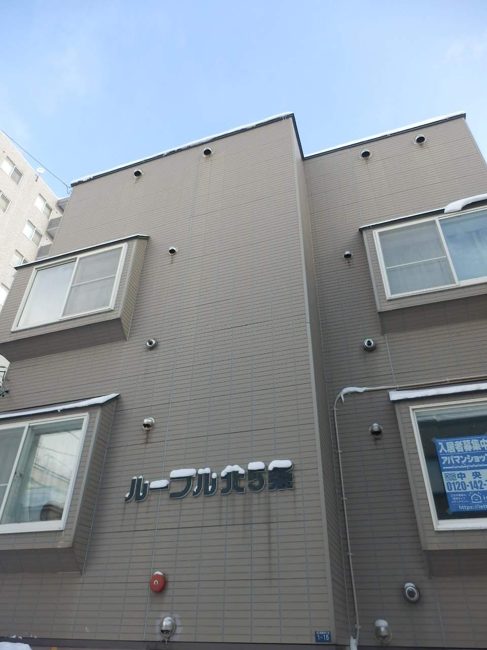 北海道札幌市中央区、二十四軒駅徒歩16分の築20年 3階建の賃貸アパート