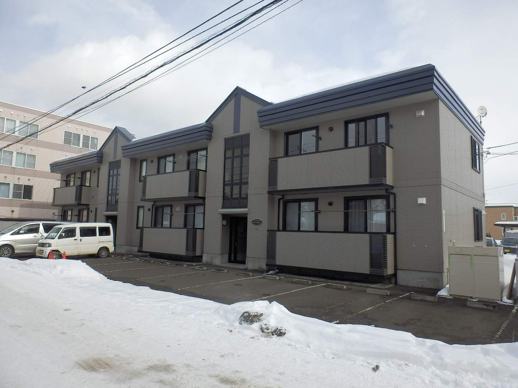 北海道札幌市中央区、石山通駅徒歩10分の築15年 2階建の賃貸マンション