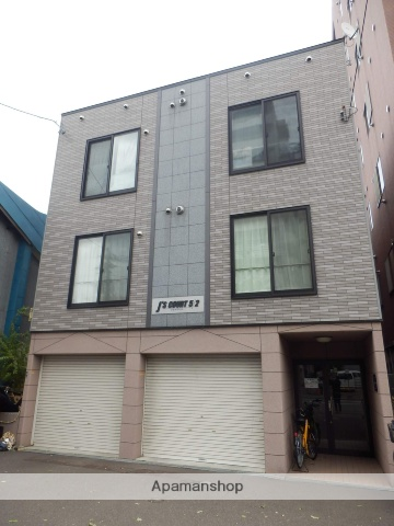 北海道札幌市中央区、バスセンター前駅徒歩8分の築14年 3階建の賃貸アパート