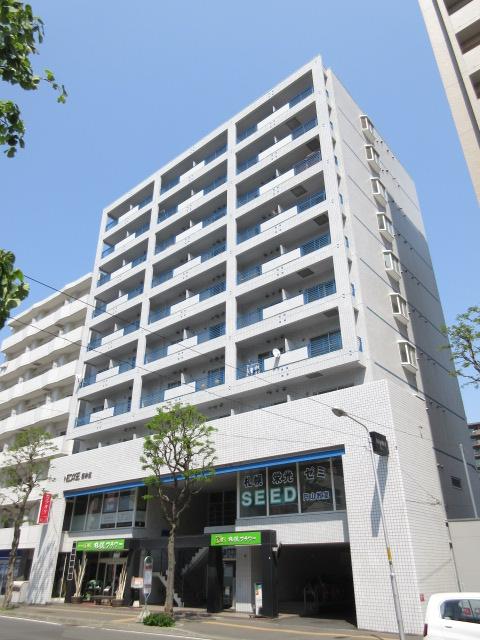 北海道札幌市中央区、西28丁目駅徒歩13分の築30年 10階建の賃貸マンション