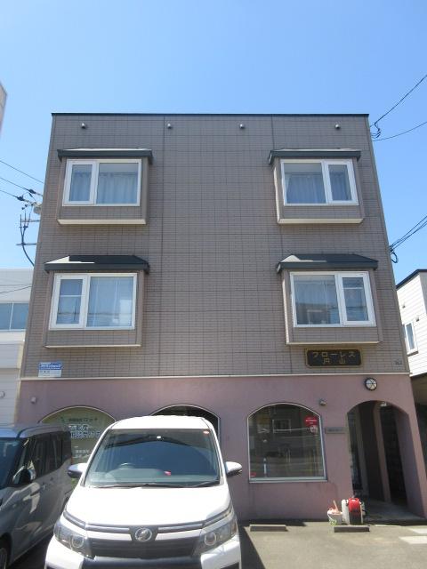 北海道札幌市中央区、西28丁目駅徒歩10分の築17年 3階建の賃貸アパート