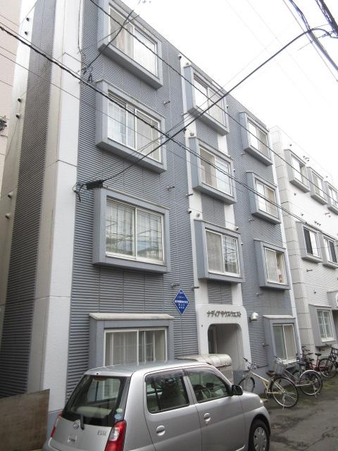 北海道札幌市中央区、西18丁目駅徒歩15分の築26年 4階建の賃貸マンション