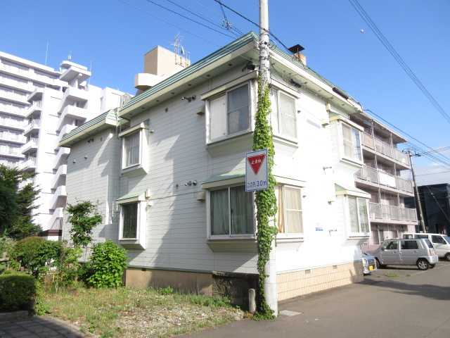 北海道札幌市中央区、二十四軒駅徒歩15分の築29年 2階建の賃貸アパート