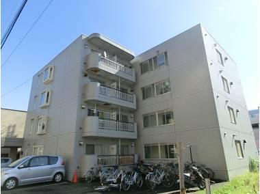 北海道札幌市中央区、西28丁目駅徒歩8分の築29年 4階建の賃貸マンション