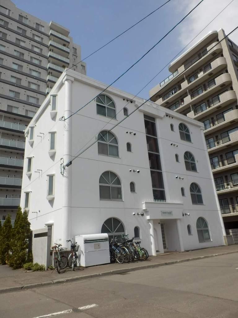 北海道札幌市中央区、円山公園駅徒歩8分の築31年 4階建の賃貸マンション