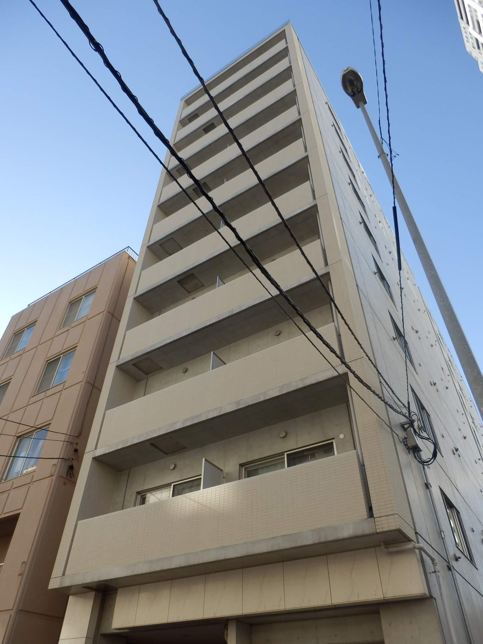 北海道札幌市中央区、バスセンター前駅徒歩5分の築11年 10階建の賃貸マンション