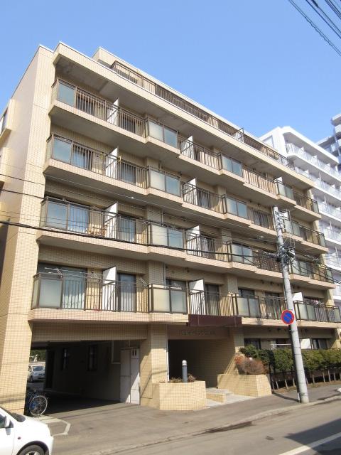 北海道札幌市中央区、西28丁目駅徒歩3分の築27年 6階建の賃貸マンション