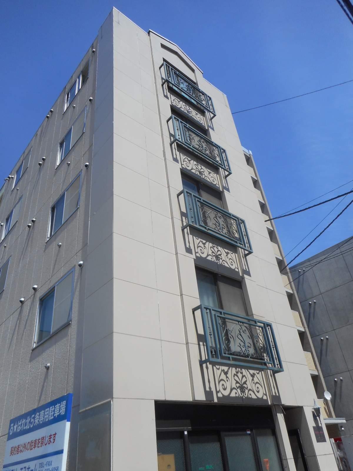 北海道札幌市中央区、桑園駅徒歩13分の築29年 5階建の賃貸マンション