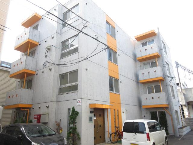 北海道札幌市中央区、札幌駅徒歩9分の築7年 4階建の賃貸マンション