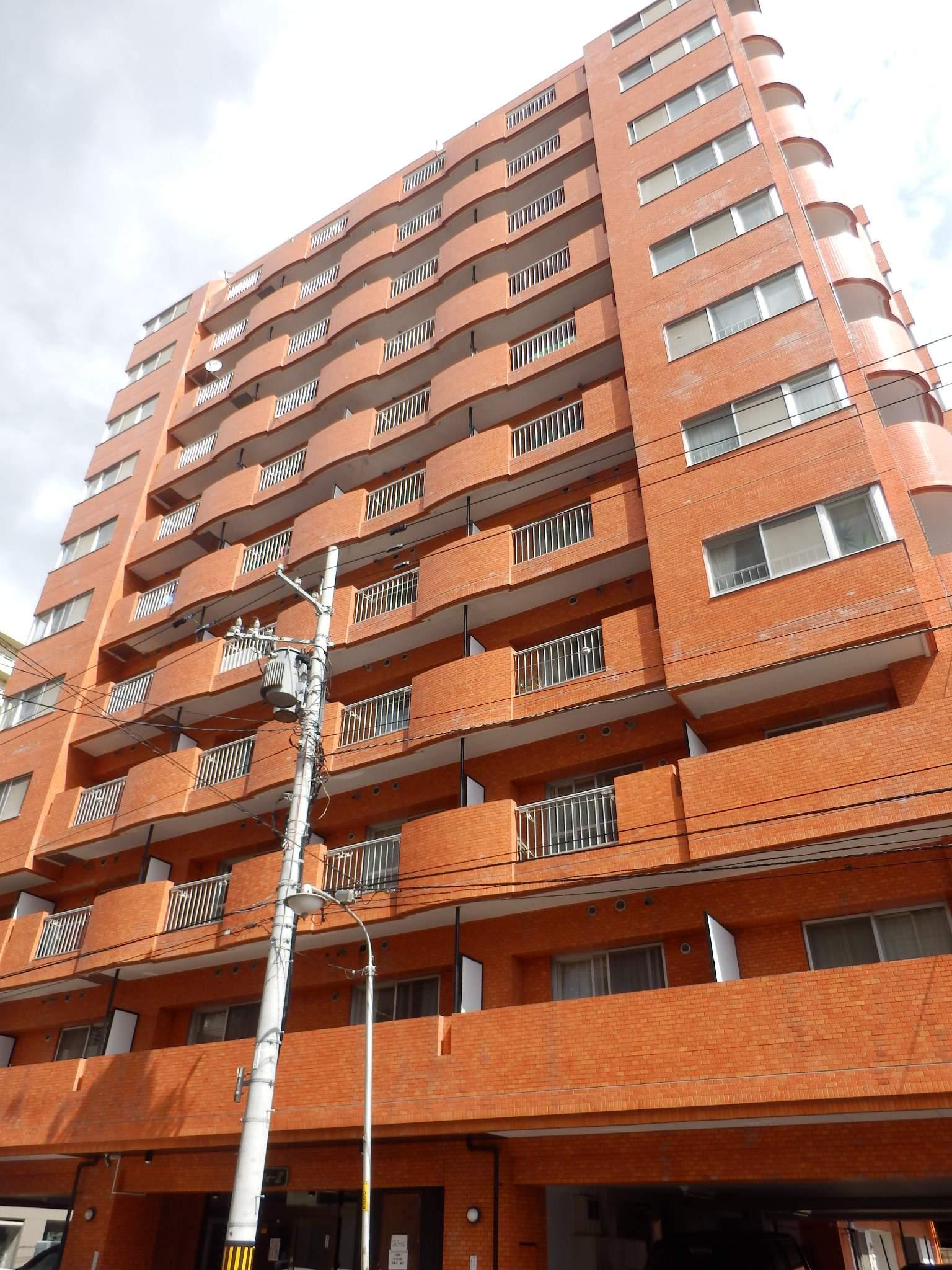 北海道札幌市中央区、バスセンター前駅徒歩7分の築30年 11階建の賃貸マンション