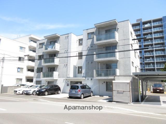 北海道札幌市中央区、石山通駅徒歩6分の新築 4階建の賃貸マンション